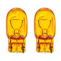 W21W 7440 582 Amber Glass Wedge Bulbs