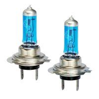 H7 55W Xenon White Blue Glass Headlight bulbs