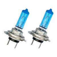 H7 100W Xenon White Blue Glass Headlight bulbs